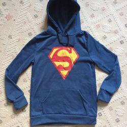 Bluza superman hanorac