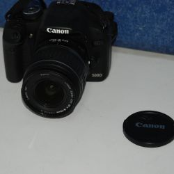 SLR digital camera Canon EOS 500D kit