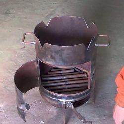The furnace under a cauldron, a pan, a pan. ORDER !!!