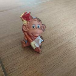 Monkey clay souvenir