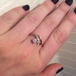 Gold ring 585