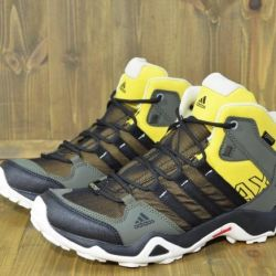 Shoes Adidas AX2 mid GTX Green / Yellow / black