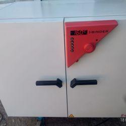 сухожаровой шкаф BINDER FD 240 рабочий