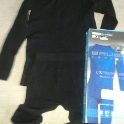 Brubeck thermal suit with merino wool