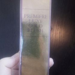 Perfumery water premiere luxe gold blush
