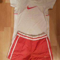 Shorts and sports shirt