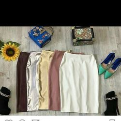Faux skirts