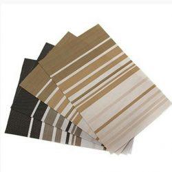 A set of napkins, PVC plastic