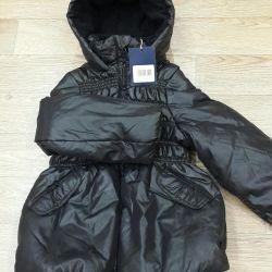 Yeni ceket demi sezonu 110-116cm.