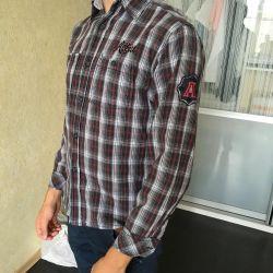 Gömlek Almanya'da satın aldı. 146-154rost.