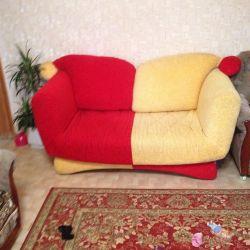 Elegant sofa.
