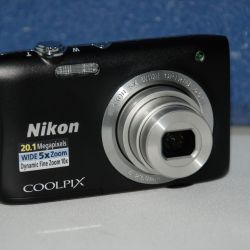 Nikon Coolpix S2900 Black Digital Camera