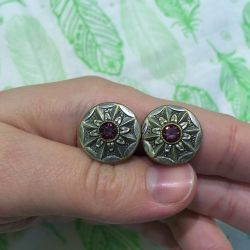 Cufflinks de antic melchior