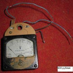 вольтметр в рабочем состоянии СССР Ц 4201 Б 40