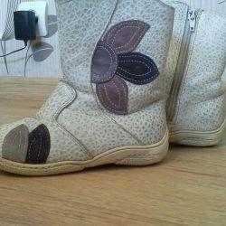 Φυσικές χειμωνιάτικες μπότες, μεγέθους 26