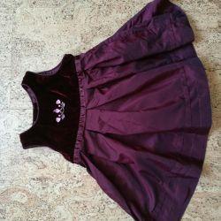 Φόρεμα κομψό h & m, 62-68 cm