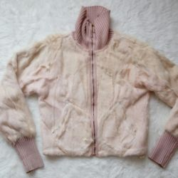 Куртка из нат. меха козлика