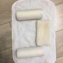 Velcro bağlantı elemanları ile novorozh için yastık