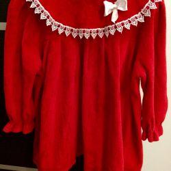 Children's velors dress for girls