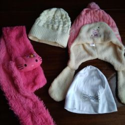 Hats, scarves