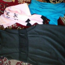 Dress and tights for the girl 128strost