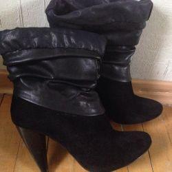 Women's boots spring-autumn. 37-37.5 p.