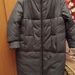Down jacket, winter coat.