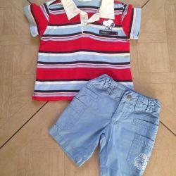 Polo + pantaloni scurți p. 74-80