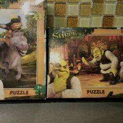 Set de puzzle nou