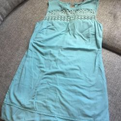 Платье- сарафан лeн