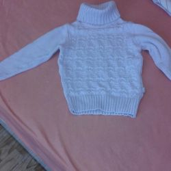 High-quality expensive sweater for girls