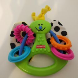 Toy fisher price rattle teether