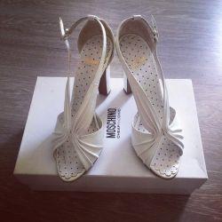 Sandals Moschino