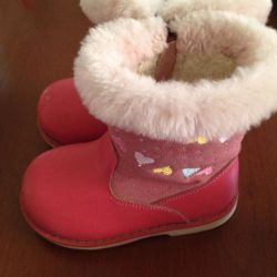 Boots for the girl the Fairy tale