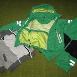 Jacket children's windbreaker pants komp waterproof