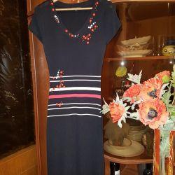 Платье французской фирмы облегающее
