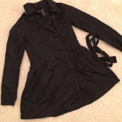 Women's raincoat, windbreaker Bershka, р.40-42