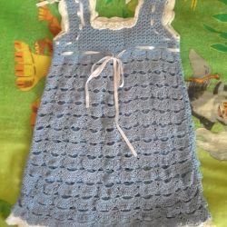 yeni tığ işi elbise