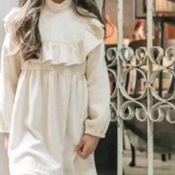 Noua rochie festivă pentru o fată timp de 4 ani