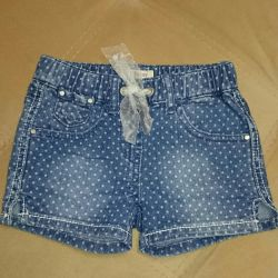 Denim shorts (play today)