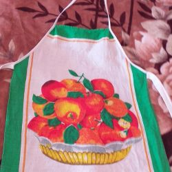 Apron for the kitchen.