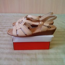 New sandals.