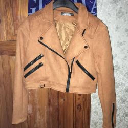 New jacket, soft material