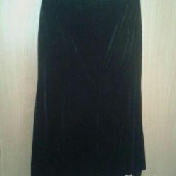 Η φούστα είναι 54 μεγέθους