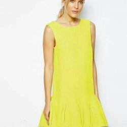 Yellow sarafan