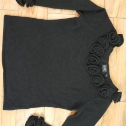 Sweater with roses (angora)