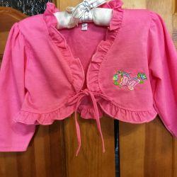 Thin short short summer blouse
