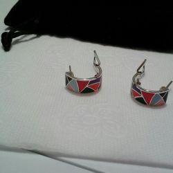 Silver earrings 925 Sunlight