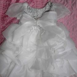 Kız için çok güzel elbise!