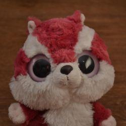 Squirrel with big eyes